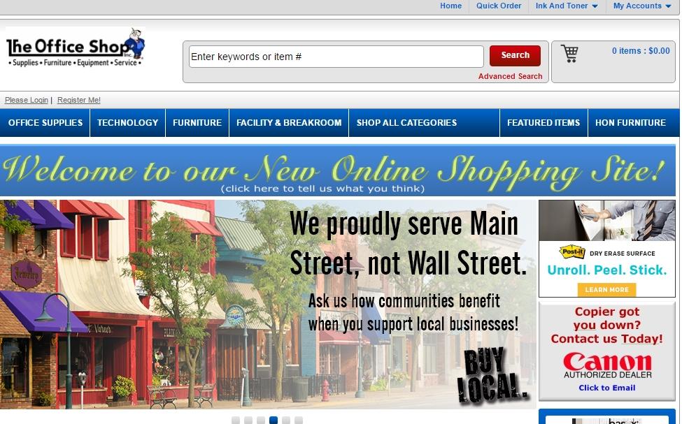 Shop Online Office SuppliesInkTonerPaperDesksChairs